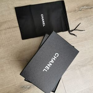 Chanel Shoe Box and Dust Bags
